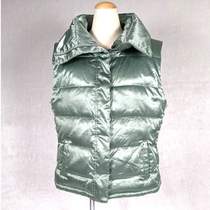 Talbots Down & Feather Filled Puffer Vest Large